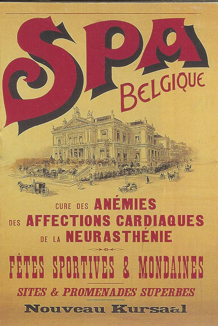 History of the thermes of spa les thermes de spa for Spa les bains de lea