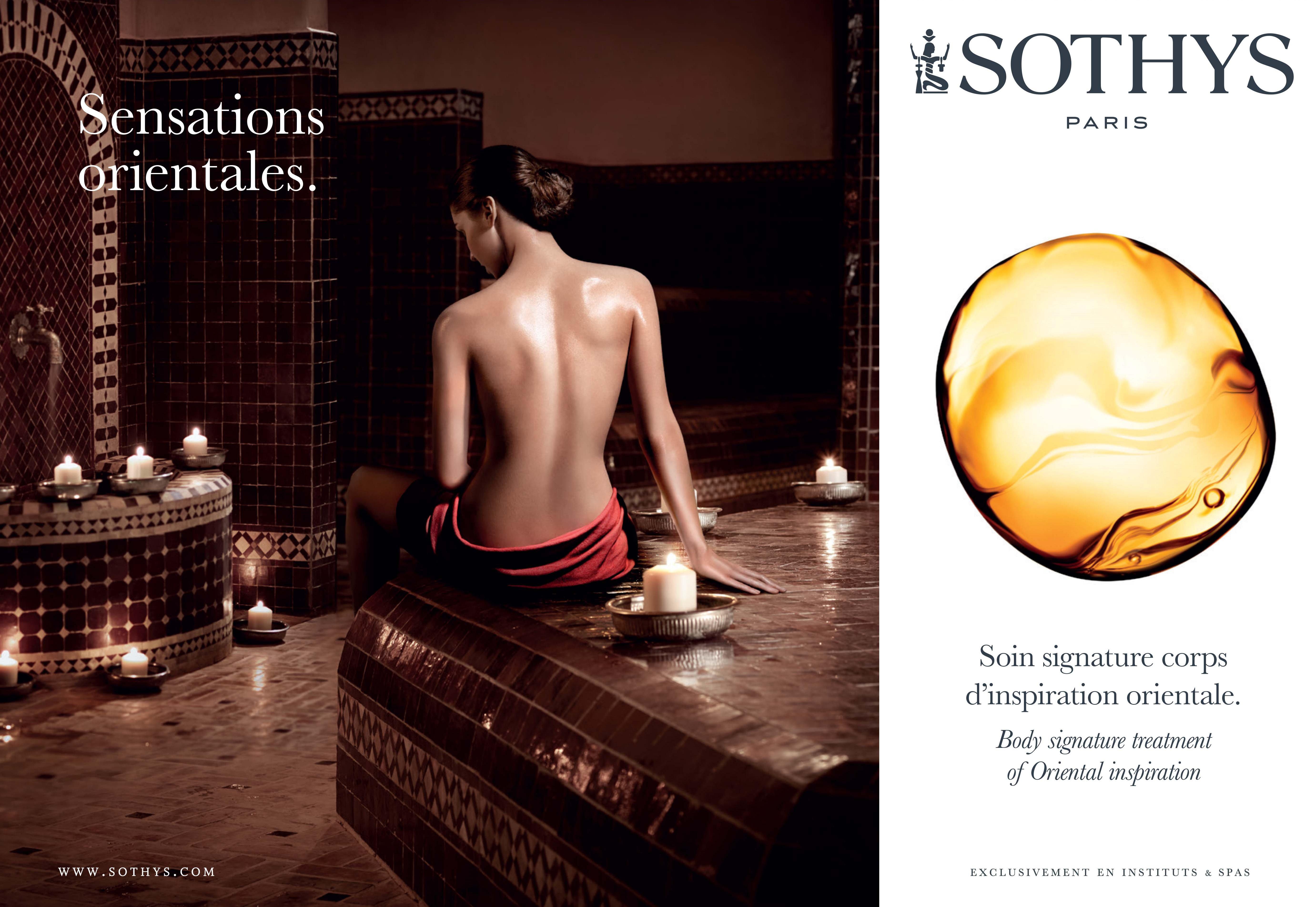 Découvrez le nouveau Soin Signature Sensations Orientales by SOTHYS®